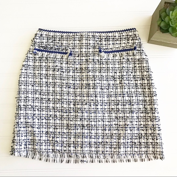 H\u0026M Skirts   Hm Tweed Skirt   Poshmark